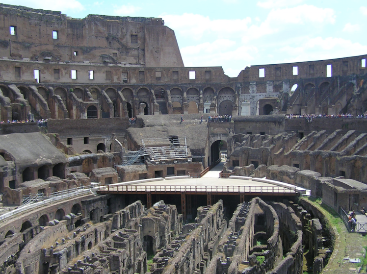 The Colosseum was one place I had dreamt of visiting since I was a young boy...tick!