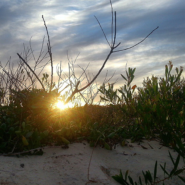 There was plenty of time to lay in the dunes and wait for the sun to get into position.