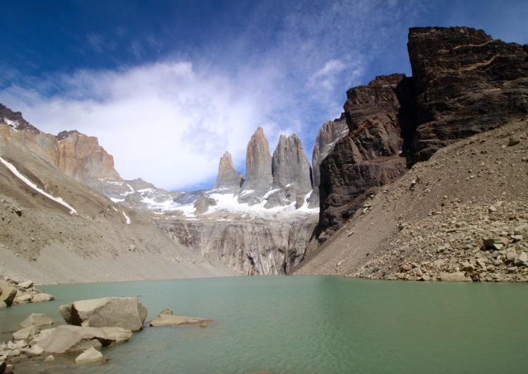 The famous towers of Torres del Paine. It is a lot of work to get there but oh so worth it!